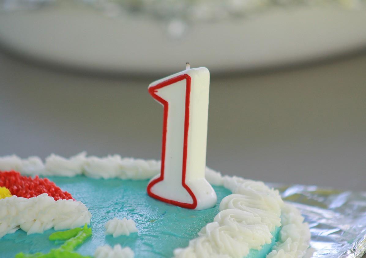 De eerste verjaardag