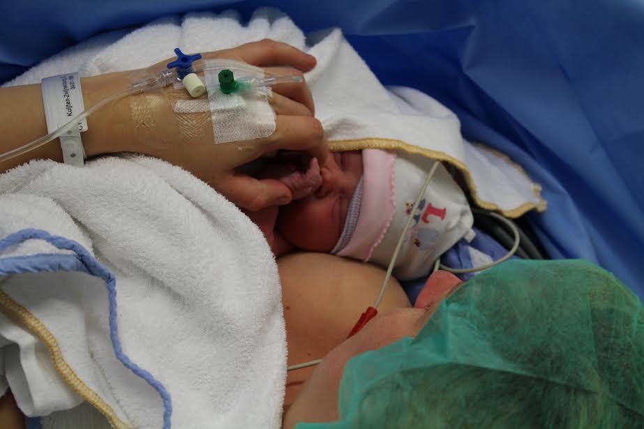 Mijn bevalling: de geplande keizersnede